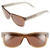 Burberry Women's 55Mm Sunglasses - Light Brown
