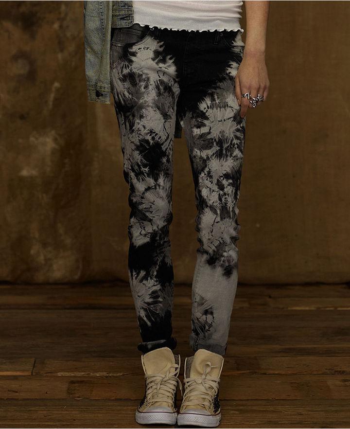 Denim & Supply Ralph Lauren Jeans, Skinny Tie-Dye