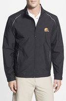Cutter & Buck Men's Big & Tall 'Cleveland Browns - Beacon' Weathertec Wind & Water Resistant Jacket