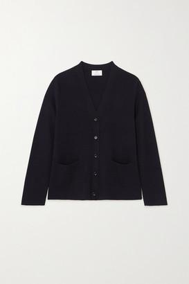 Allude Wool Cardigan - Navy