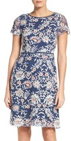Adrianna Papell Women's Marrakesh Embroidered A-Line Dress