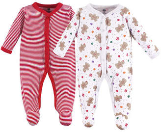 Hudson Baby Sleep and Play, 2-Pack, Holly, 0-9 Months