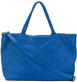 Officine Creative Woven Tote Bag
