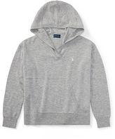 Ralph Lauren 7-16 Jersey Hooded Sweater