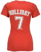 5th & Ocean Women's Matt Holliday St. Louis Cardinals Foil Player T-Shirt