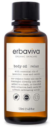 Erbaviva Relax Body Oil, 4 fl oz