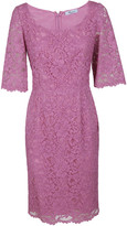 Blumarine Floral Embroidered Dress