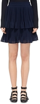 Whistles Ellie Dobbie Tiered Skirt
