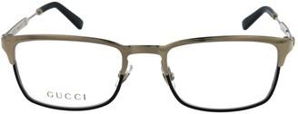 Gucci Square-Frame Blue Light Glasses