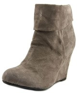 Report Riko Women Round Toe Synthetic Gray Ankle Boot.