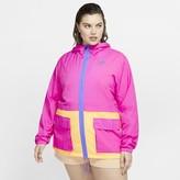 Nike Women's Woven Jacket (Plus Size Sportswear Icon Clash