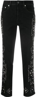 Polo Ralph Lauren Christel stud-embellished skinny jeans
