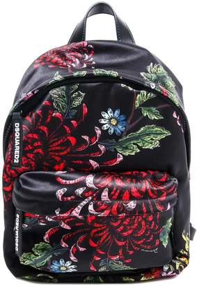 DSQUARED2 Floral Printed Backpack