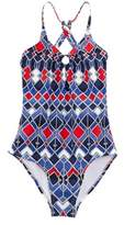 OndadeMar Girls' Atlantic Deep One-piece.