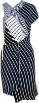 Emilio Pucci Striped ribbed-knit mini dress