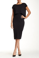 Joan Vass Double Layer Dress