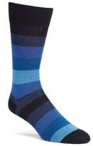 Paul Smith Men's Land Stripe Crew Socks