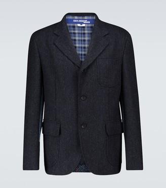 Junya Watanabe Wool and cashmere blazer