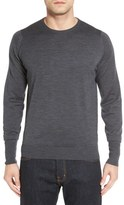 John Smedley 'Marcus' Easy Fit Crewneck Wool Sweater