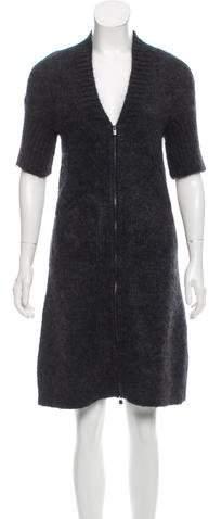 Hermes Mohair Mini Dress