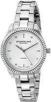 "Stuhrling Original Women's 607L.01 ""Symphony Allure"" Stainless Steel Watch with Diamonds"
