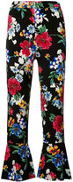 Piamita Pandora pants - women - Silk/Spandex/Elastane - L