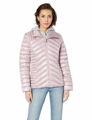 GUESS Women's Hooded Packable Puffer Jacket
