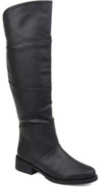 Journee Collection Women's Comfort Extra Wide Calf Vanesa Boot Women's Shoes