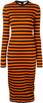 Givenchy striped fitted dress - women - Spandex/Elastane/Viscose - 36