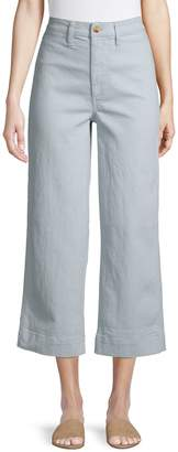 Madewell Cotton Blend Cropped Pants