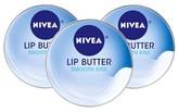 Nivea Lip Butter Tin Smooth Kiss - 3 Pack
