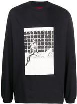 424 Cartoon-Print Sweatshirt
