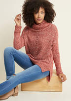 ModCloth Slouchy Cowl Neck Sweater in 2X