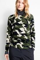 Zadig & Voltaire Crisp Print Cashmere Sweater