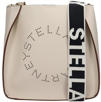 Stella McCartney Shoulder Bag In White Faux Leather