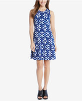 Karen Kane Printed A-Line Dress
