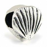 Olympia Sea Shell Bead Charm - Compatible & Fits Major Brand Name Brand Bracelets