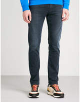 The Kooples Fitted and tapered mid-rise jeans