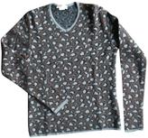 Saint Laurent Brown Wool Knitwear