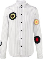 J.W.Anderson Boxy Shirt With Crochet Appliqué