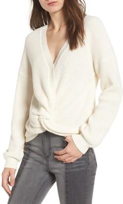 BP Twist Front Sweater (Regular & Plus Size)