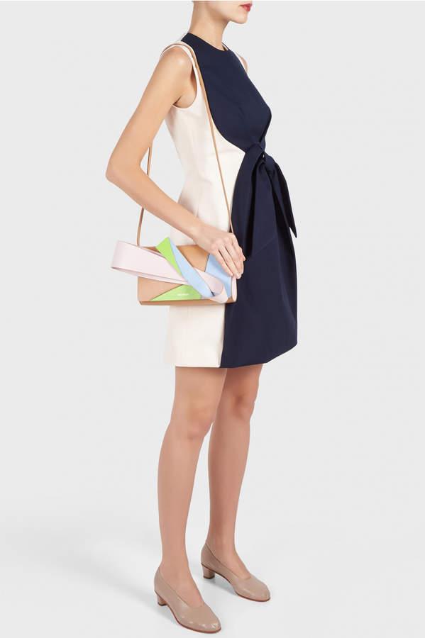 DELPOZO Bow Short Dress