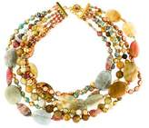 Jose & Maria Barrera Multistrand Beaded Necklace