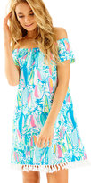 Lilly Pulitzer Marble Off The Shoulder Dress