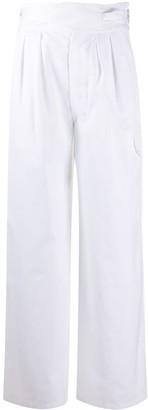Jejia High-Waisted Cargo Trousers
