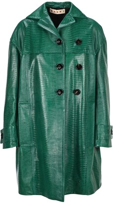 Marni Double-Breasted Duster Coat