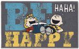 """Peanuts Friends """"Be Happy"""" Rug - 18"""" x 30"""""""