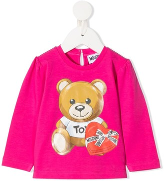 MOSCHINO BAMBINO Teddy Bear T-shirt