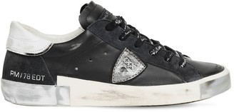 Philippe Model Paris Limited Edition Leather Sneakers