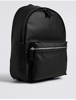 M&S Collection Textured Saffiano Rucksack